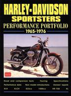 Harley-Davidson Sportsters Performance Portfolio 1965-1976 front cover
