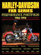 Harley-Davidson FXR Series Performance Portfolio 1982-199 front cover