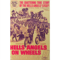 Hells Angels on Wheels Movie DVD