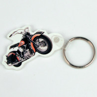 National Motorcycle Museum Logo Motorcycle Key Ring