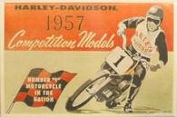 Harley-Davidson '1957 Competition Models' Magnet