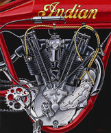 1914 Indian Engine Poster