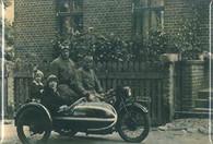 Sidecar Family Magnet