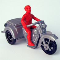 1950's Service 3-Wheeled Motorcycle Toy