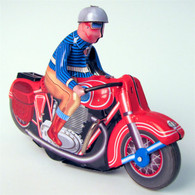 Wind Up Tin Motorbike