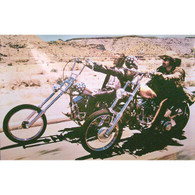 Peter Fonda & Dennis Hopper 'Easy Rider' Movie Poster