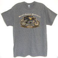 National Motorcycle Museum Vincent Black Shadow T-Shirt front