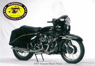 1955 Vincent Motorcycle Postcard