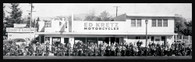 Ed Kretz Dealership Panoramic Print