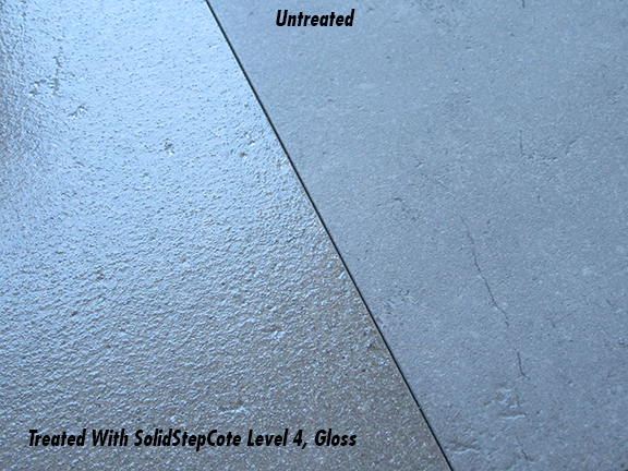 A Clear Solution to Slippery Sealed Polished Concrete