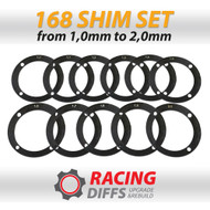 Racing Diffs BMW 168mm Differential Shim Kit
