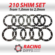 Racing Diffs BMW 210mm Differential Shim Kit