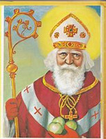 Mega Power December 6th Saint Nicholas Day Potent holy ritual ~ Bestow Everything that will make you Happy ~ Joy In all aspects of your Life ~ Hearts desires come true
