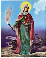 Saint Martha Commanding Domination Spell of a person or situation