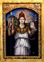 Spirit Familiar Athena Owl Guardian Sacred gifts of supernatural wisdom knowledge instincts Bestowed on You
