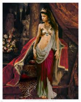 Mega Power Egyptian Queen Cleopatra Beauty and Bewitching Enchantress Becomes you