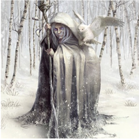 Old Woman Winter Dark Days Bane for Breaking up a Romance/Relationship Celtic Cailleach Bheur Break up/Banishment curse