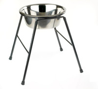 Classic Pet Products Single Feeder Stand with Bowl, 370 mm/ 4000 ml