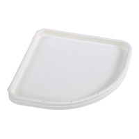 Plastic Corner Shelf - Substrate Holding With Deep Rim