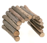 Little Friends Natural Medium Wooden Bendy Sticks - 27 x 17cm