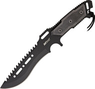 MTech Combat Knife Black