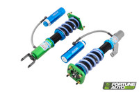 Fortune Auto Dreadnought Pro 2 Way Coilovers for Nissan Silvia 180SX & 240sx (S13)