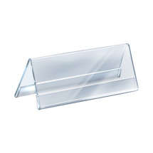 """11""""W x 4.25""""H Two-Sided Nameplate"""