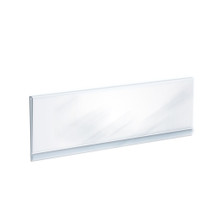 """Clear Acrylic Header Sign Holder- Insert Your Own Graphic 24""""W x 6""""H"""