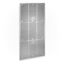 "24"" x 48"" One-Sided Pegboard Panel (CLEAR FROST ONLY)"