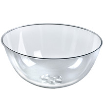 "Clear Plastic Bowl 16"" Diameter x 8"" Deep"