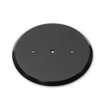 """12"""" Wide Revolving Display Base-SLOPED BLACK"""