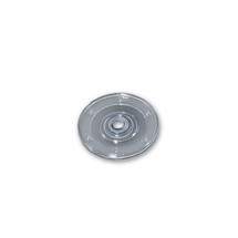 """4"""" Wide Revolving Display Base-FLAT CLEAR"""