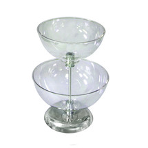 "Two-Tier 10"" & 12"" Bowl Counter Display"
