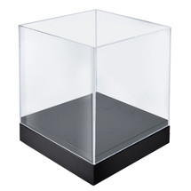 "10"" Deluxe Clear Cube Showcase"