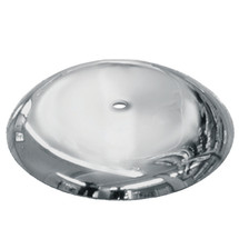 """15"""" Round metal base with 7/8"""" thread"""