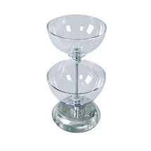 "Two-Tier 10"" & 10"" Bowl Counter Display"