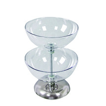 "Two-Tier 12"" & 12"" Bowl Counter Display"