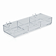 3 Compartment Tray for Peg/Slat