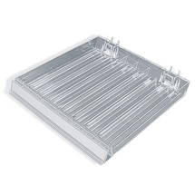 Eight Compartment Nail Polish Tray W/ Flip Front