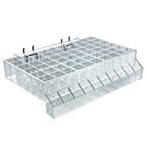 60-Compartment Tray w/ Tester Tray - square slot .875""