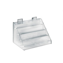 """Four-Tier Counter Step Display: 12""""W x 8""""D x 8""""H"""