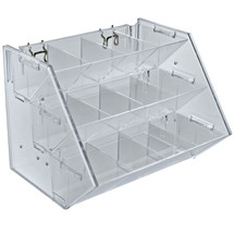 12 Compartment 3 Step Tray