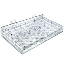 48-compartment Tray  - round slot .75