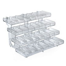 4-Tier 28-compartment Modular Tray