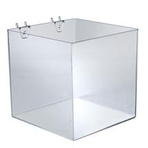 """8"""" Cube Bin for Pegboard or Slatwall"""
