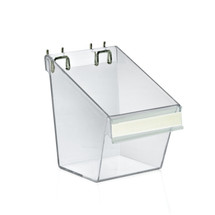 """5""""W x 6""""D x 7""""H Small Display Bucket with C-Channel"""