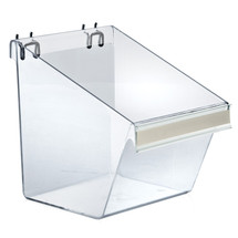 """8""""W x 6""""D x 9""""H LargeDisplay Bucket with C-Channel"""