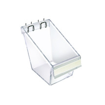 "4"" W x 4.25"" D x 4.5""H Mini Display Bucket with C-Channel"
