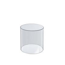 """4""""W x 6""""H Clear Acrylic Cylinder"""