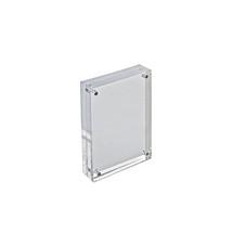 "4"" x 6"" Vertical/Horizontal Acrylic Block Frame"